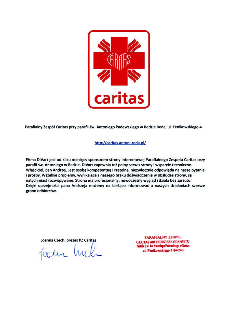 List-referencyjny-Caritas-REDA