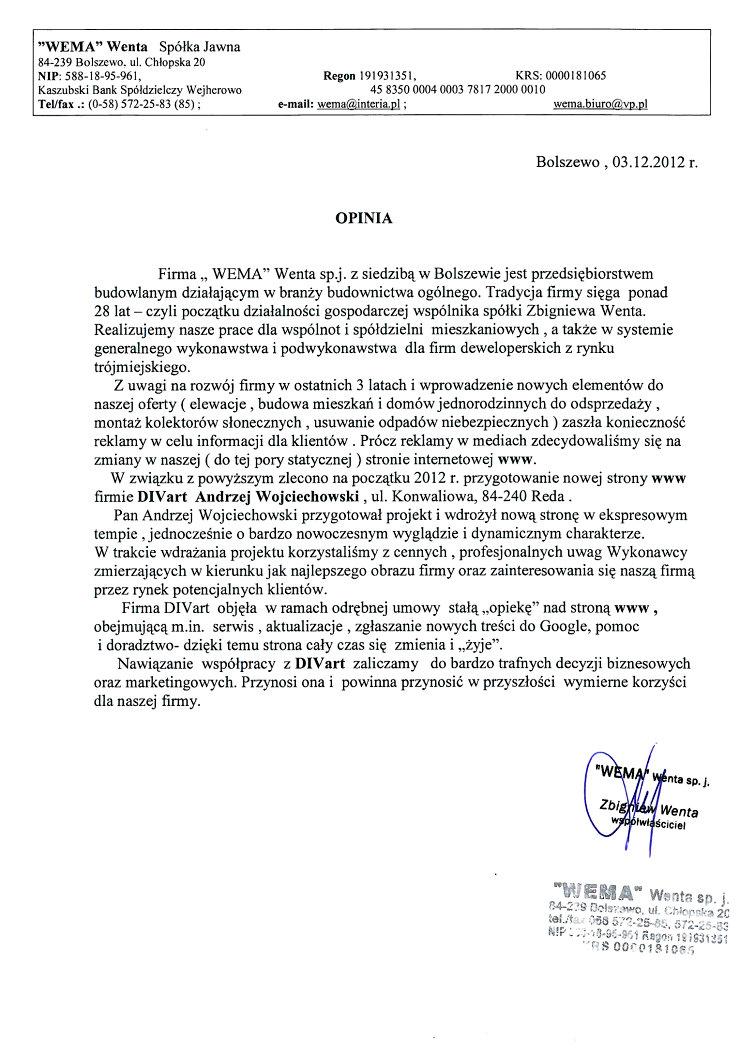 List-referencyjny-Wema-Bolszewo