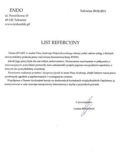 List-referencyjny-Endo
